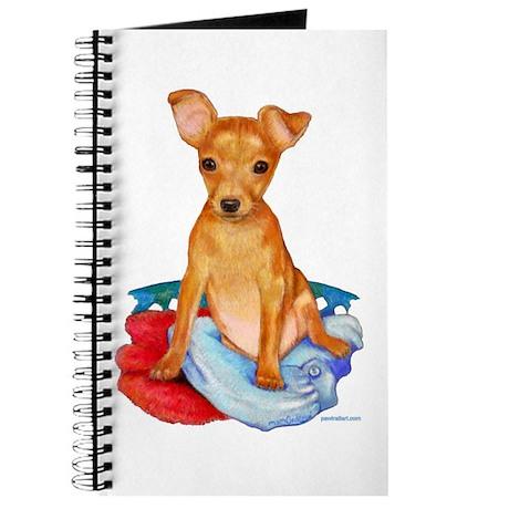 """Journal """"Min-Pin Puppy"""""""
