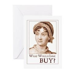 Jane Austen BUY Greeting Cards (Pk of 10)