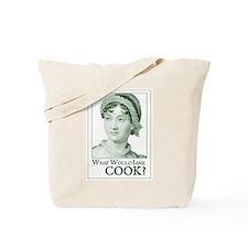 Jane Austen COOK Tote Bag