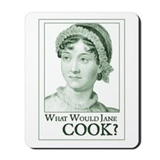 Jane Austen COOK Mousepad