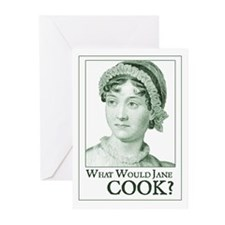 Jane Austen COOK Greeting Cards (Pk of 10)