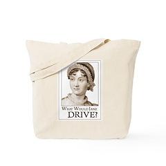 Jane Austen DRIVE Tote Bag