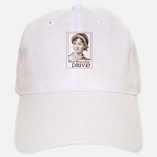 Jane Austen DRIVE Baseball Baseball Cap