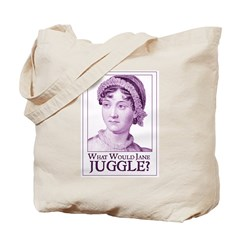 Jane Austen JUGGLE Tote Bag