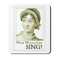 Jane Austen SING Mousepad