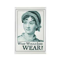 Jane Austen WEAR Rectangle Magnet