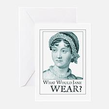 Jane Austen WEAR Greeting Cards (Pk of 10)