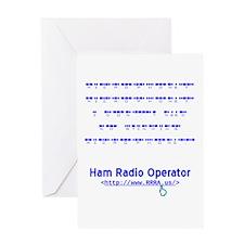 CW Microphone Greeting Card