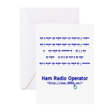 CW Microphone Greeting Cards (Pk of 10)