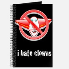 I Hate Clowns Writing Journal