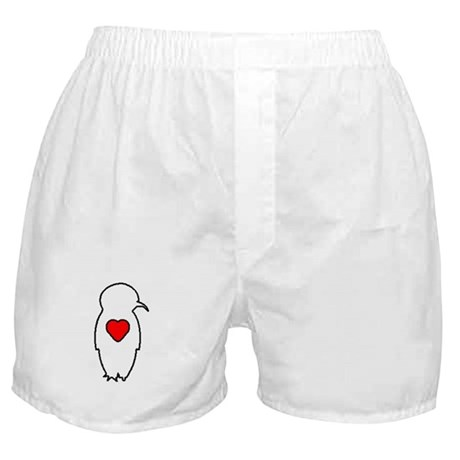 Penguin Love Boxer Shorts