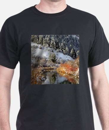 Winter river T-Shirt