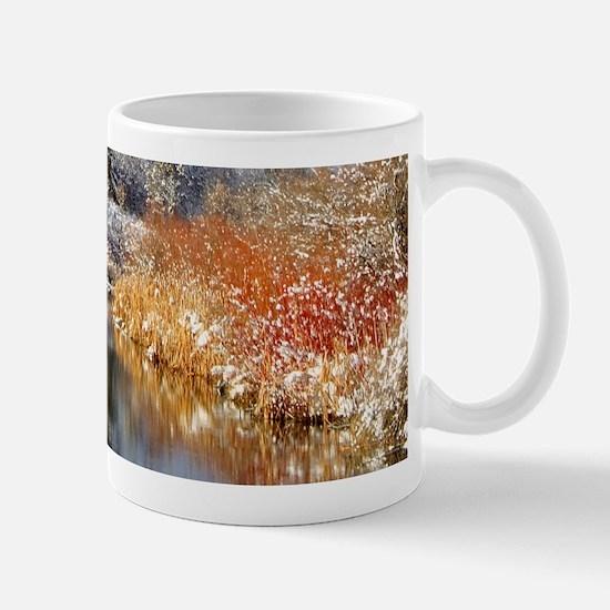 Winter river Mug