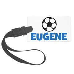 EUGENE - SOCCER BALL - Custom Name Luggage Tag