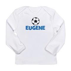 EUGENE - SOCCER BALL - Custom Name Long Sleeve Inf
