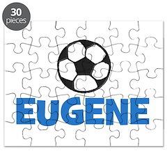 EUGENE - SOCCER BALL - Custom Name Puzzle