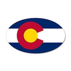 Colorado flag Wall Decal