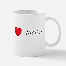 I Love(heart) Myself Mug