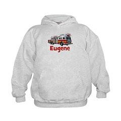 EUGENE - FIRE TRUCK - CUSTOM NAME Hoodie