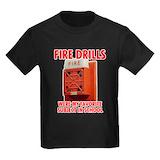 Fire alarm Kids T-shirts (Dark)