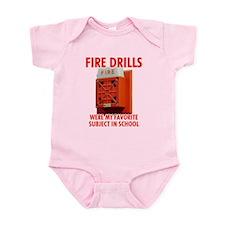 Fire Drills Infant Bodysuit