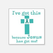 """Ive got this Square Sticker 3"""" x 3"""""""
