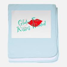 Gluten Free Kisses baby blanket