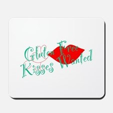 Gluten Free Kisses Mousepad