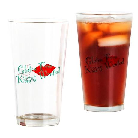 Gluten Free Kisses Drinking Glass