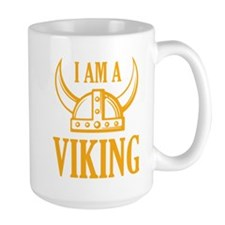I AM A VIKING Ceramic Mugs