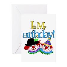 Clown Birthday Invitations