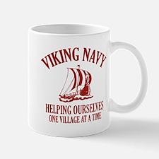 Viking Navy Small Mugs