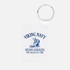 Viking Navy Keychains