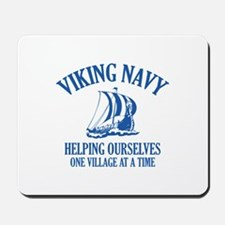 Viking Navy Mousepad