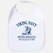 Viking Navy Bib