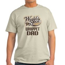 Whippet Dad Gift T-Shirt