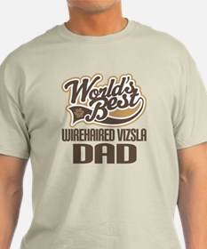 Wirehaired Vizsla Dad T-Shirt