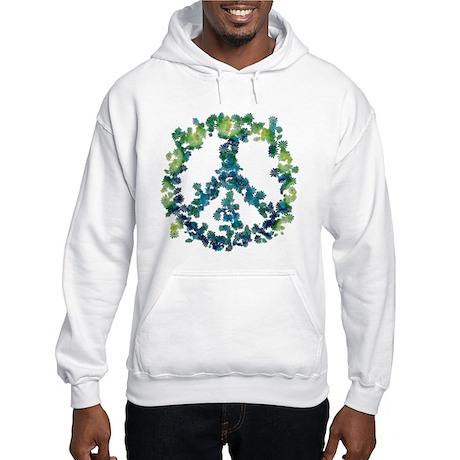 Meditation Flower Peace Hooded Sweatshirt