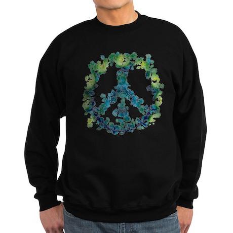 Meditation Flower Peace Sweatshirt (dark)