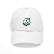 Meditation Flower Peace Baseball Cap