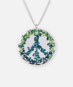 Meditation Flower Peace Necklace