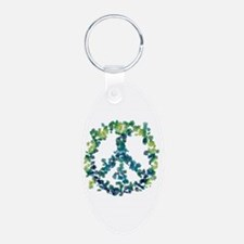 Meditation Flower Peace Keychains