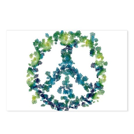 Meditation Flower Peace Postcards (Package of 8)