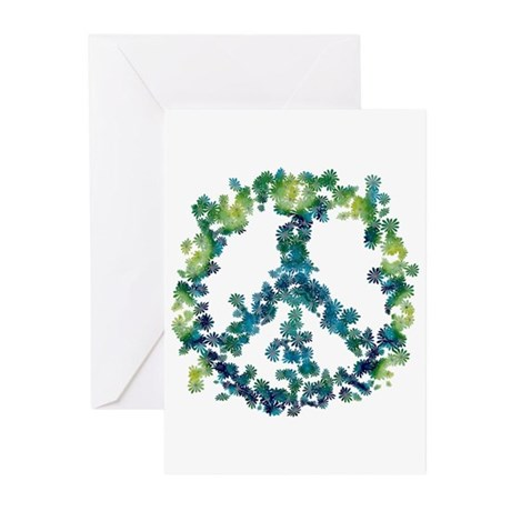 Meditation Flower Peace Greeting Cards (Pk of 20)