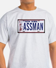 Assman Ash Grey T-Shirt