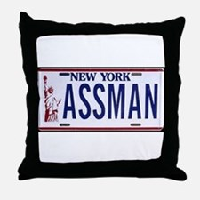 Assman Throw Pillow