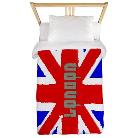 London Washed Flag Twin Duvet