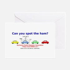 Can you spot the ham? Greeting Card