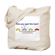 Can you spot the ham? Tote Bag