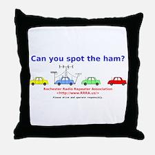 Can you spot the ham? Throw Pillow